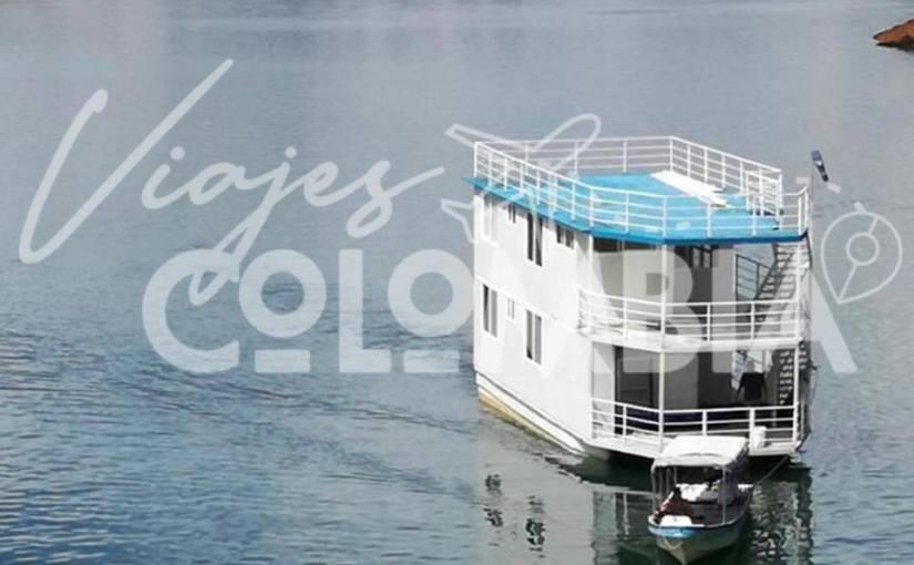 Casa Flotante en GuatapéAntioquia
