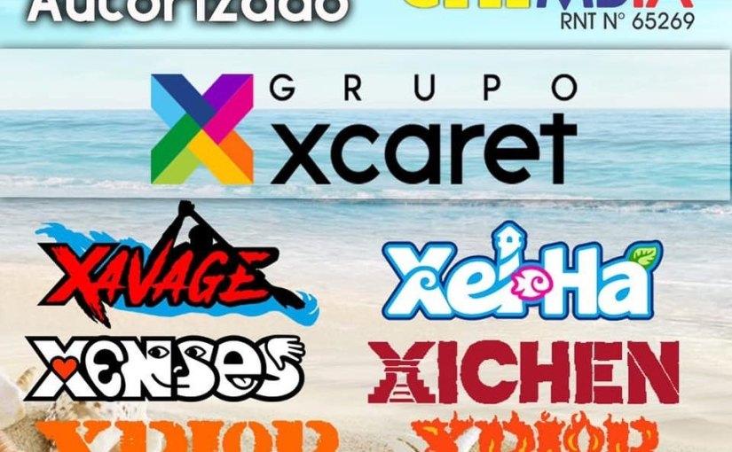 Somos agentes autorizados del Grupo Xcaret –México